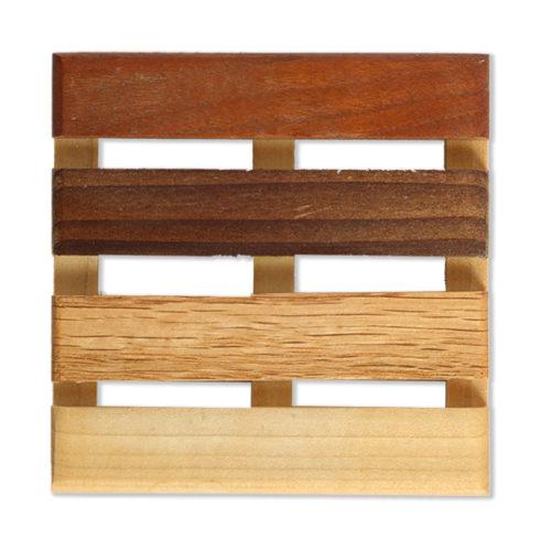 Burgati 4x4 Wooden Soap Dish